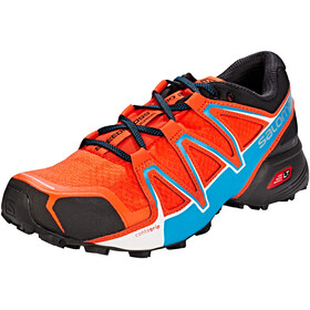 Salomon Speedcross Vario 2 Shoes Men Cherry Tomato/Black/Fjord Blue